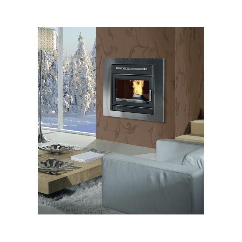 insert pellet hydro klover 16kw. Black Bedroom Furniture Sets. Home Design Ideas