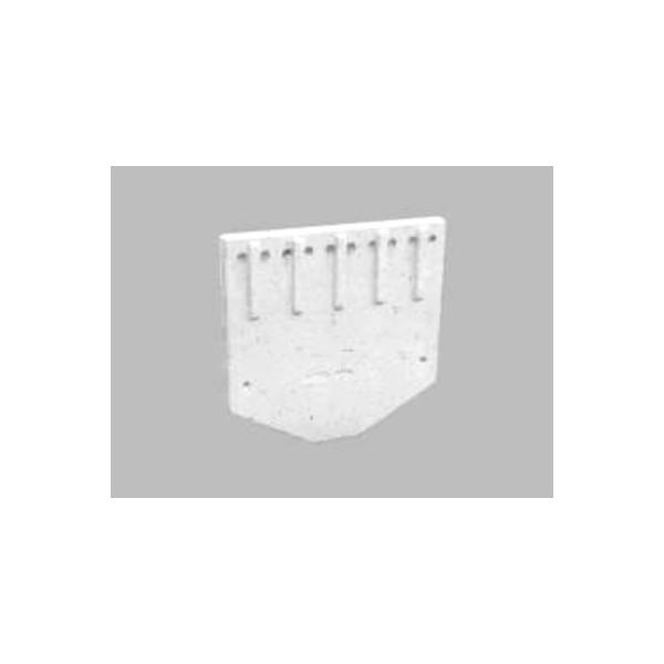 Plaque arriere de la chambre de combustion chauffage systeme for Chambre de combustion