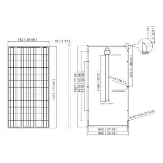 Ensemble solaire Photovoltaïque 1,75KW