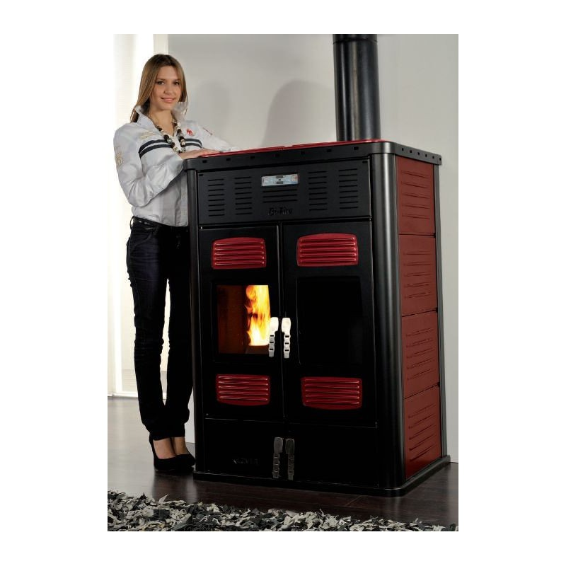 poele hydro 31kw double foyer bi fire mid klover. Black Bedroom Furniture Sets. Home Design Ideas